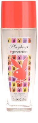 Playboy Generation desodorizante vaporizador para mulheres