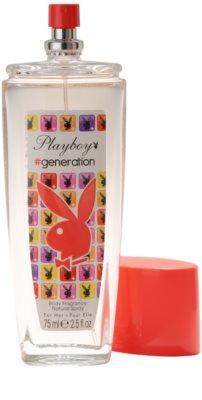 Playboy Generation deodorant s rozprašovačem pro ženy 1