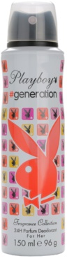 Playboy Generation deodorant Spray para mulheres