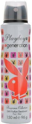 Playboy Generation dezodor nőknek