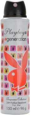 Playboy Generation dezodorant w sprayu dla kobiet 1