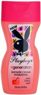 Playboy Generation crema de ducha para mujer