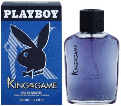 Playboy King Of The Game eau de toilette para hombre