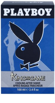 Playboy King Of The Game after shave pentru barbati 1