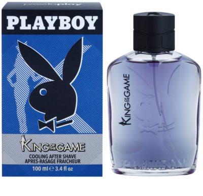 Playboy King Of The Game loción after shave para hombre