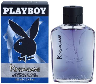 Playboy King Of The Game voda po holení pre mužov