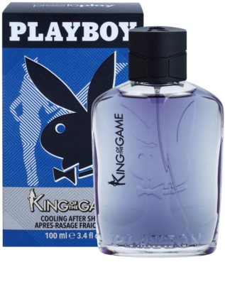 Playboy King Of The Game after shave pentru barbati 2