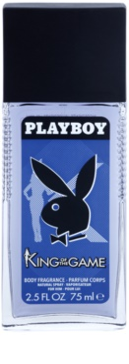 Playboy King Of The Game Deo mit Zerstäuber für Herren