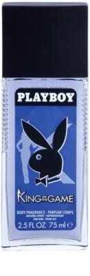 Playboy King Of The Game desodorante con pulverizador para hombre