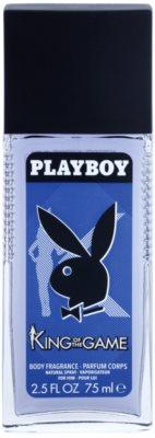 Playboy King Of The Game spray dezodor férfiaknak