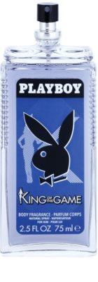 Playboy King Of The Game deodorant s rozprašovačem pro muže 1