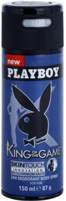 Playboy King Of The Game deodorant Spray para homens