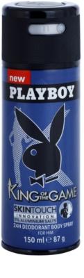 Playboy King Of The Game dezodorant w sprayu dla mężczyzn