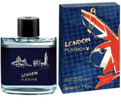 Playboy London eau de toilette férfiaknak
