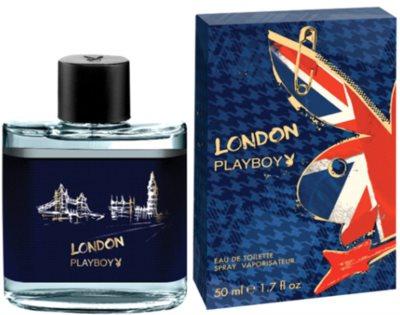 Playboy London Eau de Toilette pentru barbati
