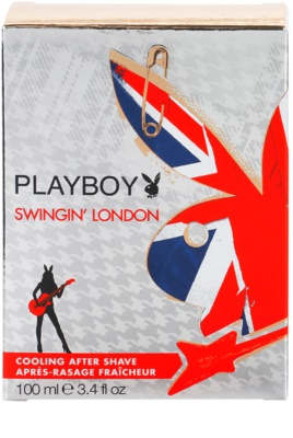 Playboy London after shave para homens 3