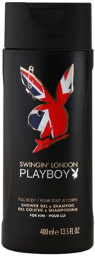 Playboy London gel za prhanje za moške
