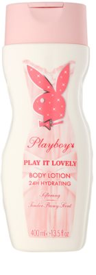 Playboy Play It Lovely testápoló tej nőknek
