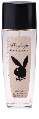 Playboy Play It Lovely deodorant s rozprašovačem pro ženy