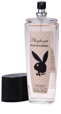 Playboy Play It Lovely desodorizante vaporizador para mulheres 1
