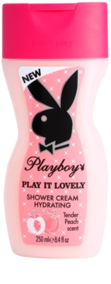 Playboy Play It Lovely creme de duche para mulheres