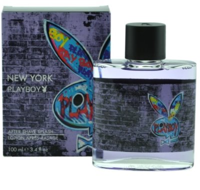 Playboy New York after shave para homens