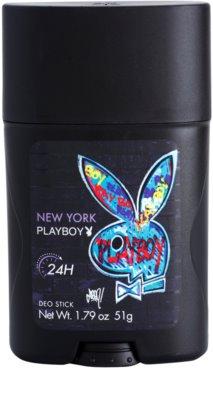 Playboy New York desodorizante em stick para homens