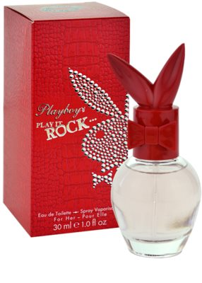 Playboy Play It Rock Eau de Toilette para mulheres