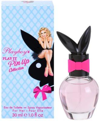 Playboy Play It Pin Up Eau de Toilette pentru femei