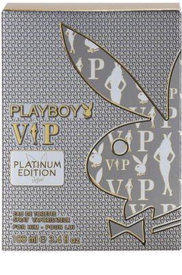 Playboy VIP Platinum Edition Eau de Toilette pentru barbati 4