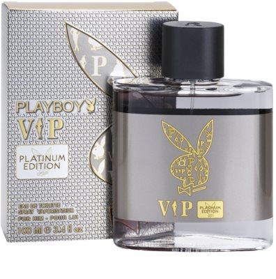 Playboy VIP Platinum Edition Eau de Toilette pentru barbati 1