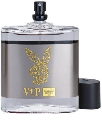 Playboy VIP Platinum Edition Eau de Toilette pentru barbati 3