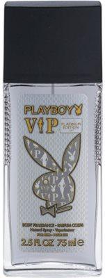 Playboy VIP Platinum Edition desodorante con pulverizador para hombre
