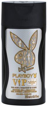Playboy VIP Platinum Edition gel de ducha para hombre