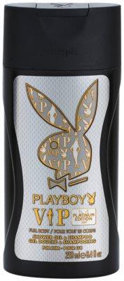 Playboy VIP Platinum Edition gel de duche para homens