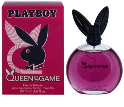 Playboy Queen Of The Game Eau de Toilette para mulheres