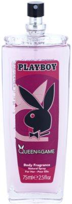 Playboy Queen Of The Game desodorizante vaporizador para mulheres 1