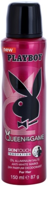 Playboy Queen Of The Game deodorant Spray para mulheres