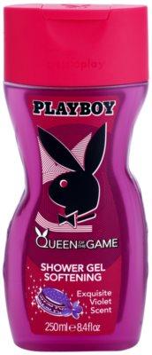 Playboy Queen Of The Game gel de duche para mulheres