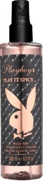 Playboy Play It Spicy testápoló spray nőknek
