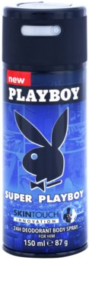 Playboy Super Playboy for Him Skin Touch desodorante en spray para hombre