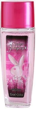 Playboy Super Playboy for Her Deo mit Zerstäuber für Damen