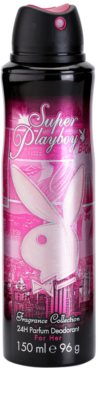 Playboy Super Playboy for Her desodorante en spray para mujer 1