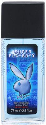 Playboy Super Playboy for Him Deo mit Zerstäuber für Herren