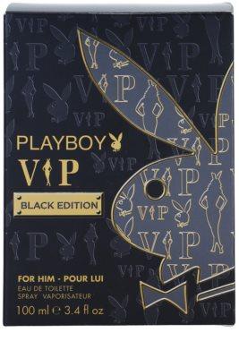 Playboy VIP Black Edition eau de toilette para hombre 4