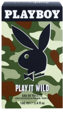 Playboy Play it Wild Eau de Toilette für Herren 1