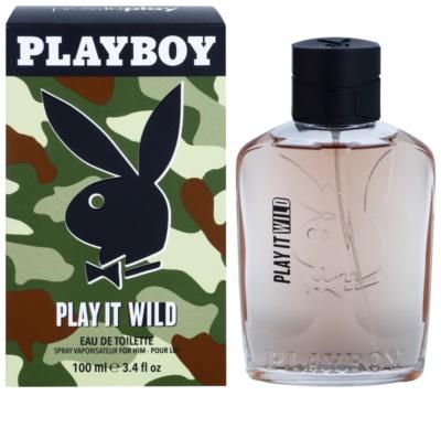 Playboy Play it Wild eau de toilette férfiaknak