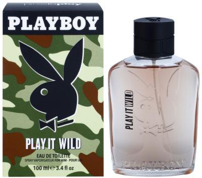 Playboy Play it Wild Eau de Toilette pentru barbati
