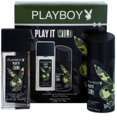 Playboy Play it Wild Geschenkset