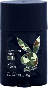 Playboy Play it Wild desodorizante em stick para homens